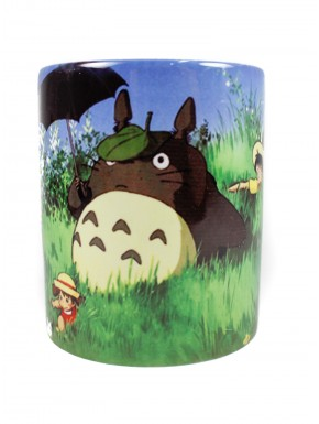 Totoro taza cartel pelicula Ghibli