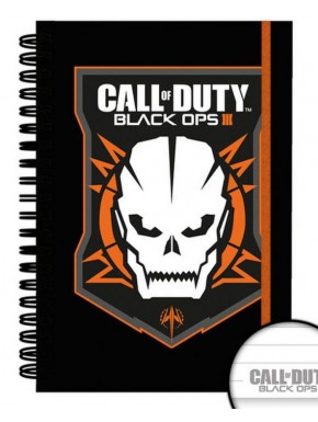 Call of Duty Cuaderno Black Ops III