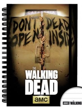 The Walking Dead Cuaderno Inside