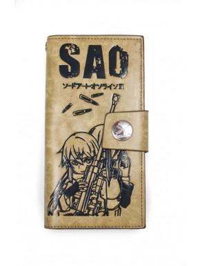 Sword Art Online billetera Sinon
