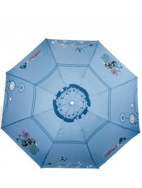 Vocaloid paraguas azul