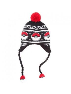 Pokémon gorro con orejeras Pokeball