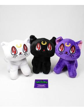 Sailor Moon set peluches tres gatos