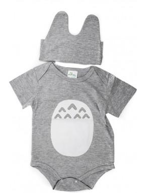 Body bebé Totoro algodón
