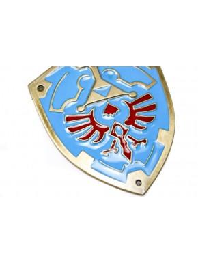 Zelda llavero escudo Hyliano metal grande