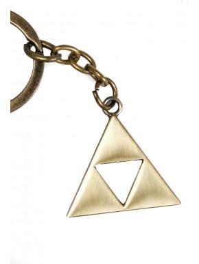 Zelda trifuerza bronce llavero