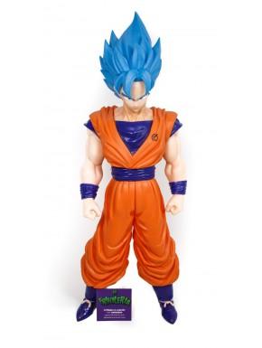 Figura Goku pelo azul 45 cm
