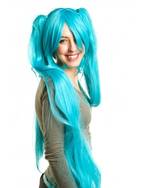 Vocaloid peluca Hatsune Miku