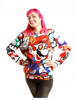 Super Mario sudadera alucinógena