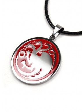 Juego de Tronos colgante acero Targaryen