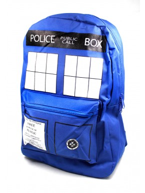 Doctor Who mochila Tardis