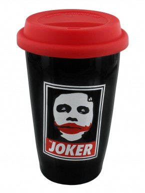 Batman taza viaje Joker Why so Serious