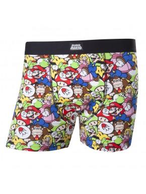 Calzoncillos boxer Nintendo Super Mario