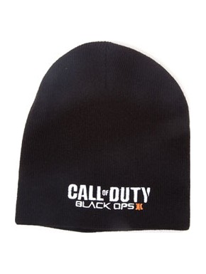 Call of Duty gorro negro Black Ops