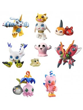 Digimon Adventure Digicolle Figuras Sorpresa 6cm