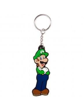 Super Mario llavero de caucho Luigi