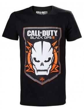 Call of Duty camiseta negra Black Ops III