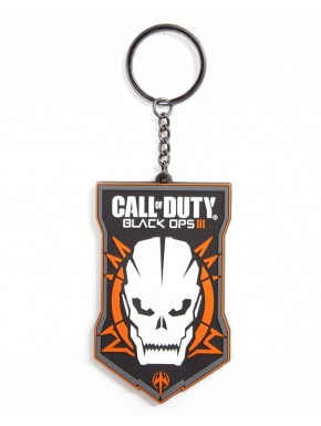 Call of Duty llavero de caucho Black Ops III