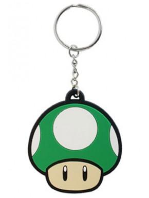 Nintendo llavero caucho 1 up