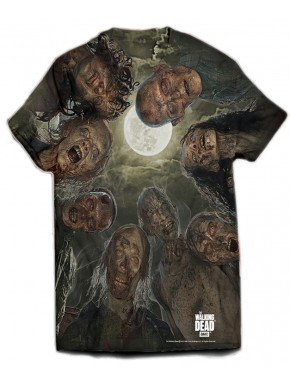 Walking Dead camiseta Walk over you