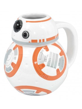 Star Wars Taza 3D BB-8 Episodio VII
