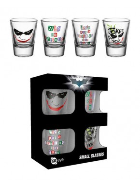 Batman pack de 4 Chupitos The Dark Knight