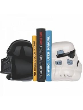 Sujeta Libros Stormtrooper y Vader