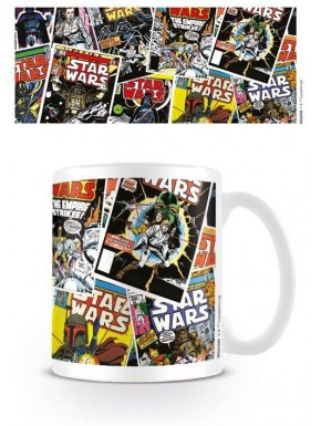 Taza Portada Comic Star Wars