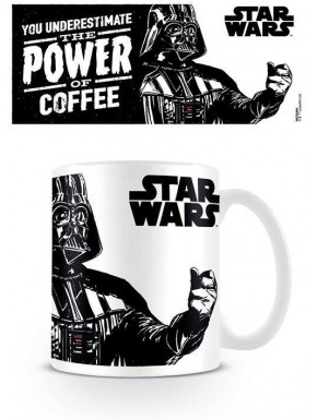 Taza El Poder del Cafe Star Wars