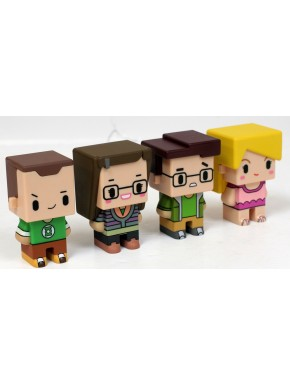 Set 1 Figuras Big Bang Teory