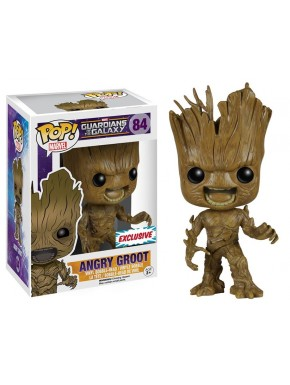 Guardianes de la Galaxia POP! Groot cabreado Exclusivo