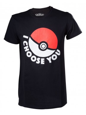 Camiseta Pokemon I choose you