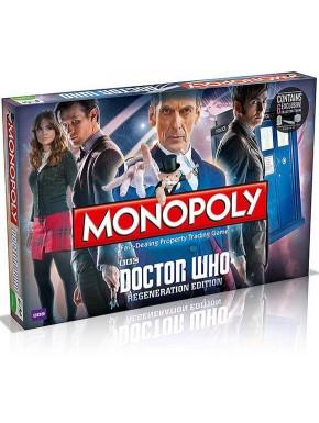Monopoly Doctor Who en Inglés