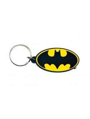 Llavero caucho logo Batman