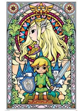 Poster Zelda Vidriera