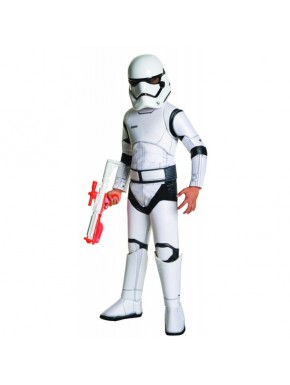 Traje Completo Stormtrooper Niño Deluxe
