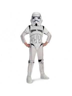 Traje Completo Stormtrooper Infantil