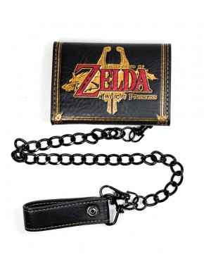 Cartera Zelda Twilight Princess con cadena