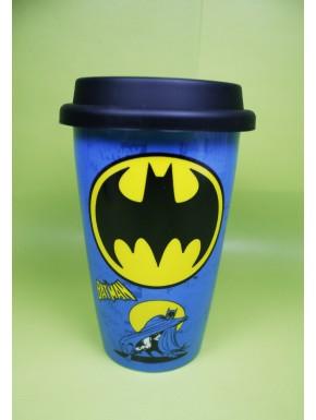 Taza de Viaje Batman Vintage