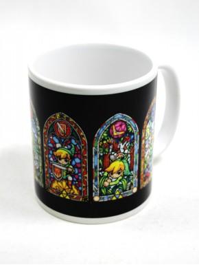 Zelda taza vidrieras