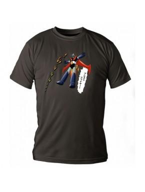 Camiseta Mazinger Negra Lata