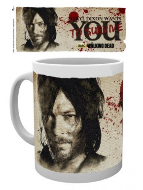 Taza Daryl Dixon Needs You