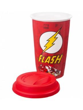 Taza Viaje Porcelana Flash