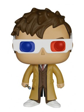 Funko Pop! 10th Doctor Doctor Who gafas 3D