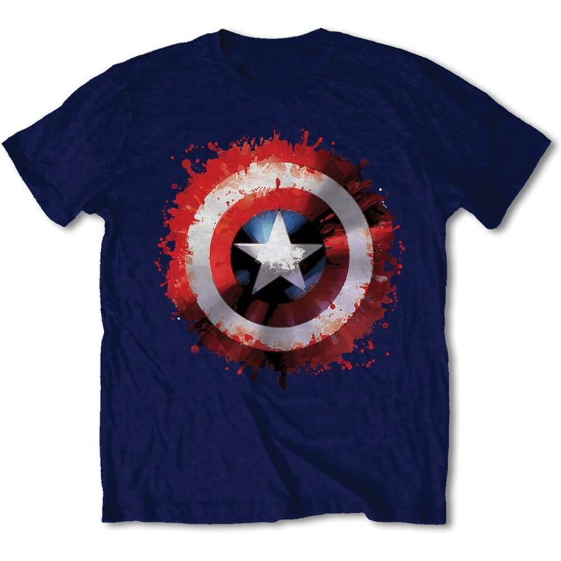 Camiseta Escudo Capitn Amrica por solo 2100  LaFrikileriacom