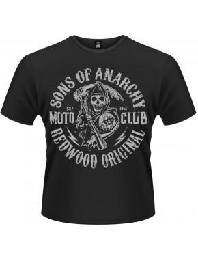 Camiseta Moto Reaper Hijos de la Anarquía