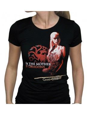 Camiseta Chica Mother of Dragons Daenerys