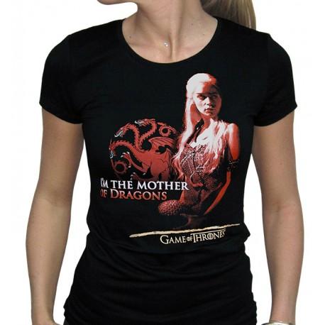 Camiseta Mother of Dragons Daenerys