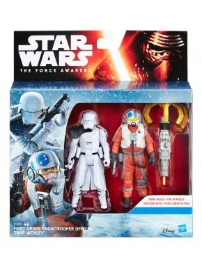 Pack Figuras Star Wars Snap Wexley y Snowtrooper