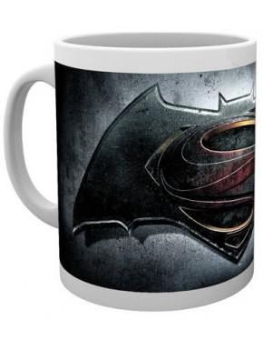 Taza logo Batman v Superman
